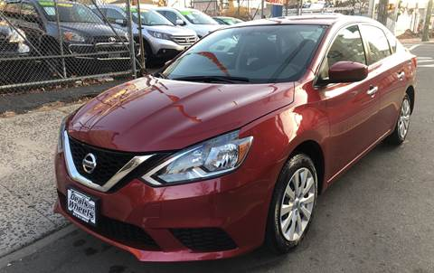 2016 Nissan Sentra for sale at DEALS ON WHEELS in Newark NJ
