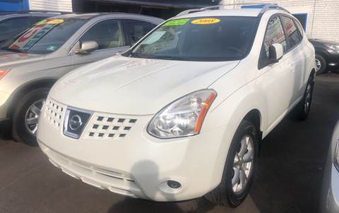 2008 Nissan Rogue for sale at DEALS ON WHEELS in Newark NJ