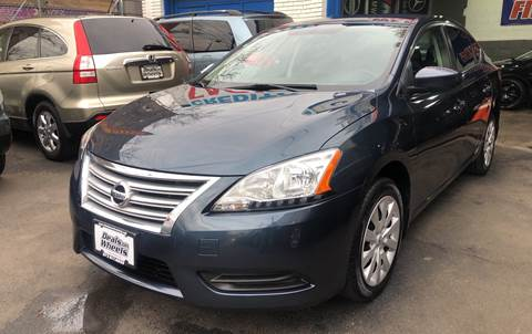 2015 Nissan Sentra for sale at DEALS ON WHEELS in Newark NJ