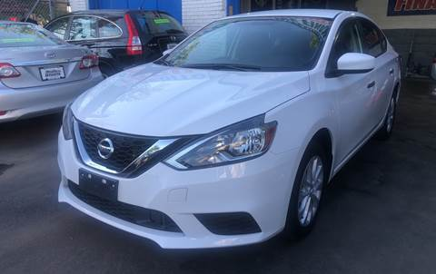 2018 Nissan Sentra for sale at DEALS ON WHEELS in Newark NJ