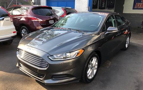 2015 Ford Fusion for sale at DEALS ON WHEELS in Newark NJ