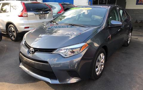 2014 Toyota Corolla for sale at DEALS ON WHEELS in Newark NJ