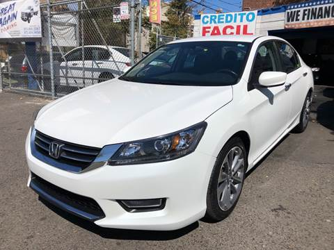 2015 Honda Accord for sale at DEALS ON WHEELS in Newark NJ