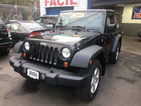 2009 Jeep Wrangler for sale at DEALS ON WHEELS in Newark NJ