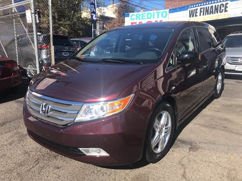 2013 Honda Odyssey for sale at DEALS ON WHEELS in Newark NJ
