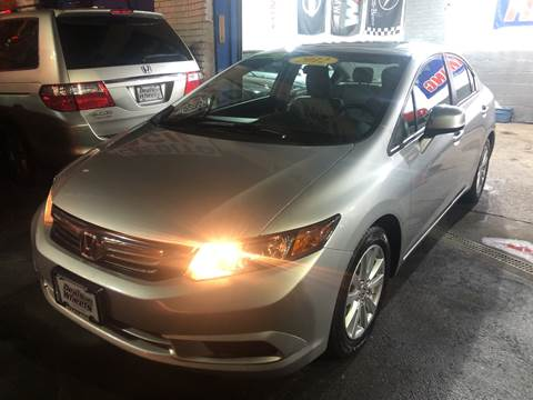 2012 Honda Civic for sale at DEALS ON WHEELS in Newark NJ
