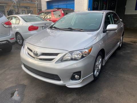 2011 Toyota Corolla for sale at DEALS ON WHEELS in Newark NJ