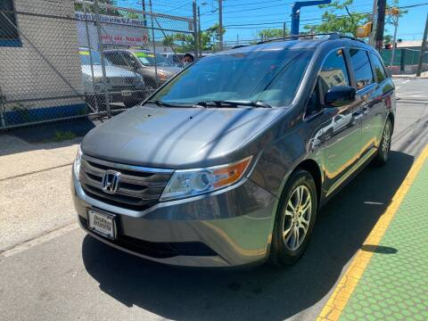 2012 Honda Odyssey for sale at DEALS ON WHEELS in Newark NJ