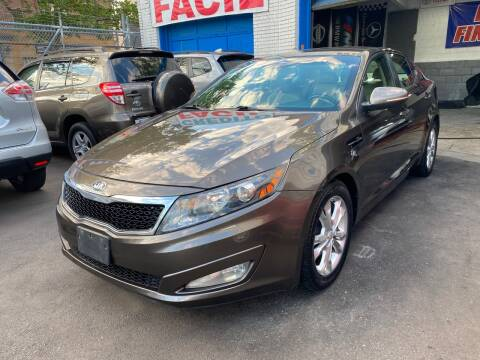 2013 Kia Optima for sale at DEALS ON WHEELS in Newark NJ