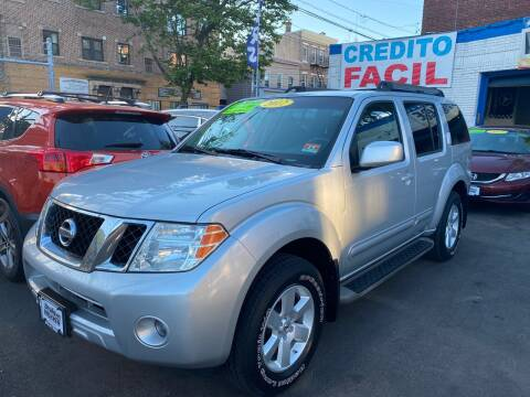 2012 Nissan Pathfinder for sale at DEALS ON WHEELS in Newark NJ
