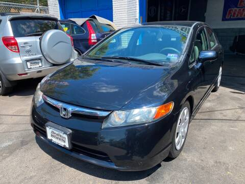 2008 Honda Civic for sale at DEALS ON WHEELS in Newark NJ