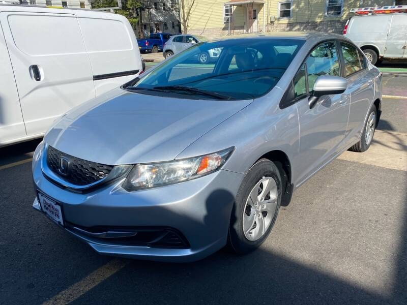 2014 Honda Civic for sale at DEALS ON WHEELS in Newark NJ