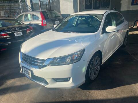 2014 Honda Accord for sale at DEALS ON WHEELS in Newark NJ