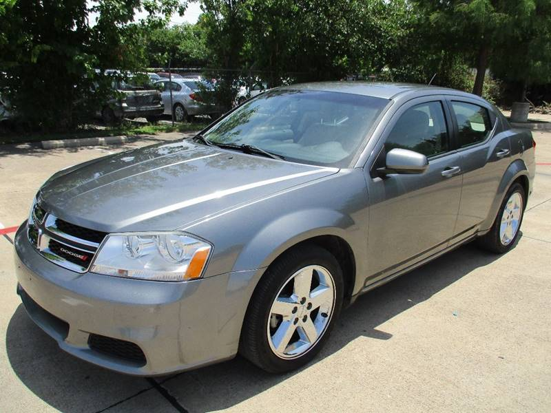 2012 Dodge Avenger for sale at Import Auto Sales in Arlington TX
