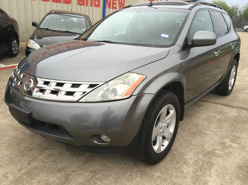 2005 Nissan Murano for sale at Import Auto Sales in Arlington TX