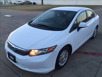 2012 Honda Civic for sale at Import Auto Sales in Arlington TX
