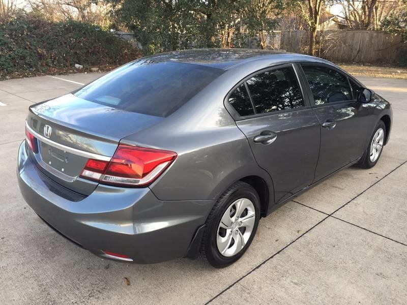 2013 Honda Civic for sale at Import Auto Sales in Arlington TX