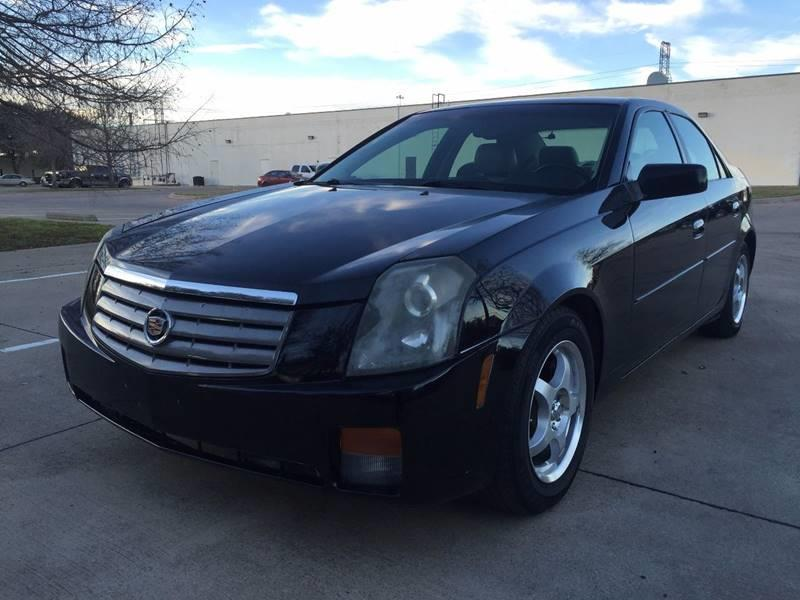 2004 Cadillac CTS for sale at Import Auto Sales in Arlington TX