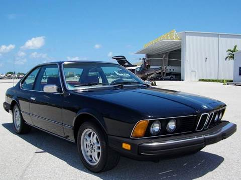 1983 BMW 6 Series