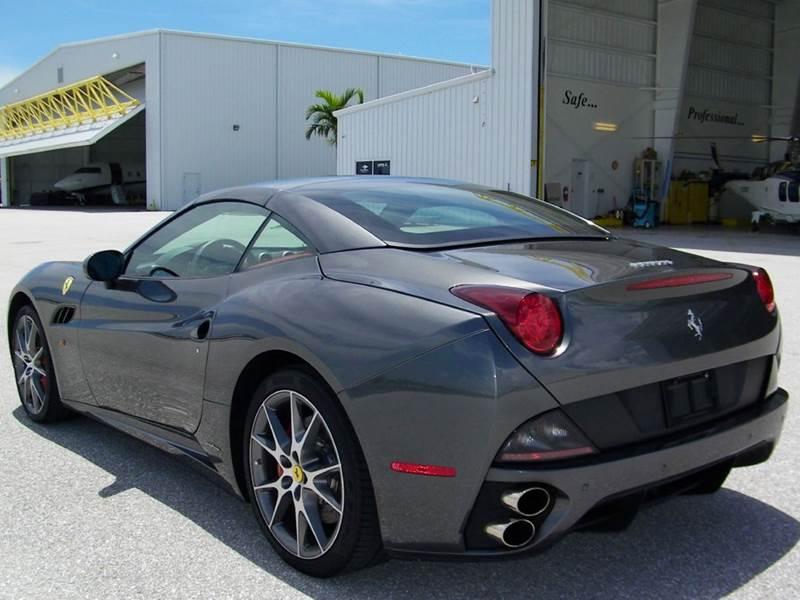 2012 Ferrari California 2dr Convertible - Pompano Beach FL