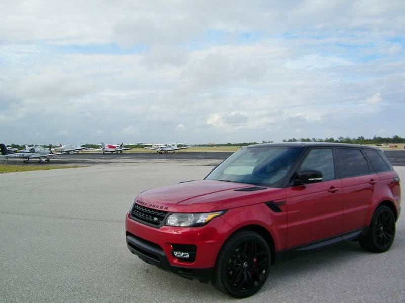 2015 Land Rover Range Rover Sport 4x4 Supercharged 4dr SUV - Pompano Beach FL