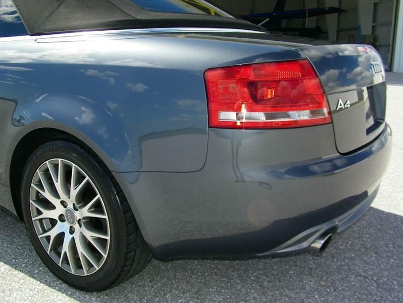2009 Audi A4 2.0T 2dr Convertible CVT - Pompano Beach FL