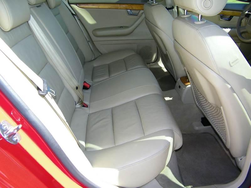 2007 Audi A4 2.0T 4dr Sedan (2L I4 CVT) - Pompano Beach FL