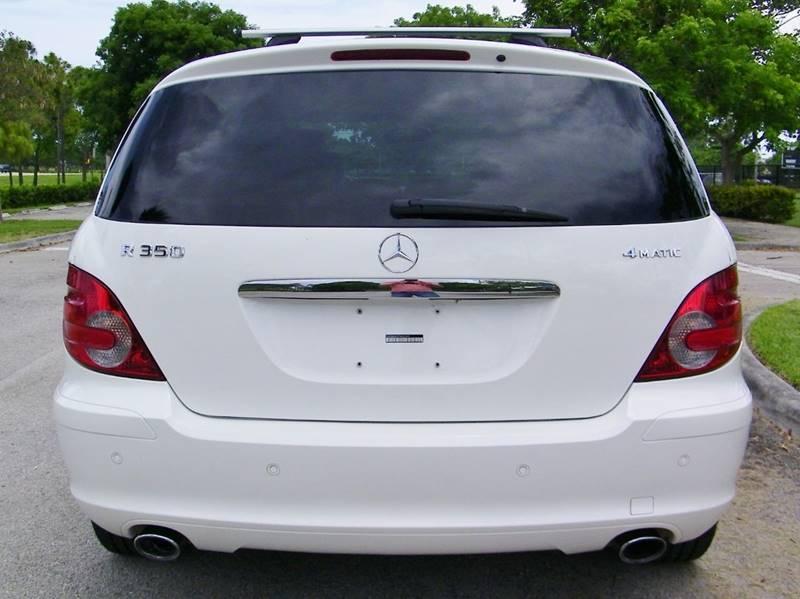 2007 Mercedes-Benz R-Class AWD R 350 4MATIC 4dr Wagon - Pompano Beach FL