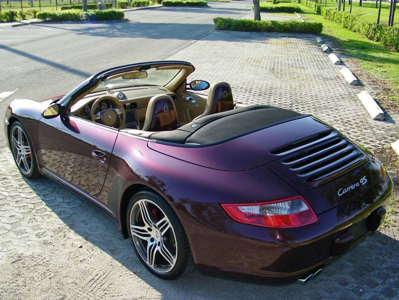 2007 Porsche 911 Carrera 4S Cabriolet: WOW!! LOADED!! CLEAN HIST!! PORSCHE C4S CAB!! NAV!! HIGHLY SPEC-ED!! CALL NOW!!