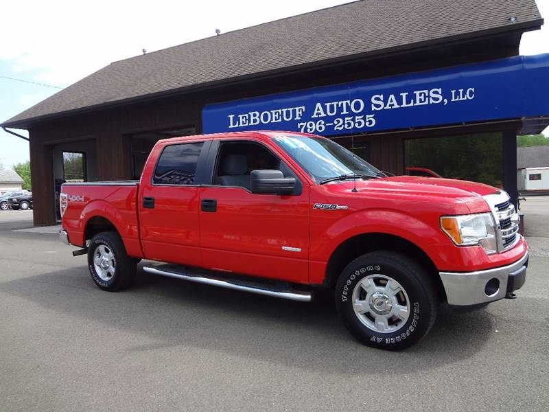 2013 Ford F-150 4x4 XLT 4dr SuperCrew Styleside 5.5 ft. SB - Waterford PA