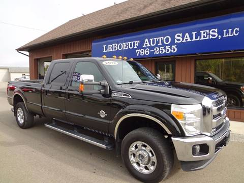 2012 Ford F-350 Super Duty for sale in Waterford, PA