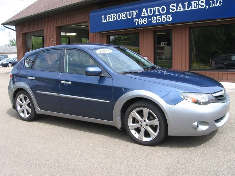 2011 Subaru Impreza Awd Outback Sport 4dr Wagon 4a In Waterford Pa