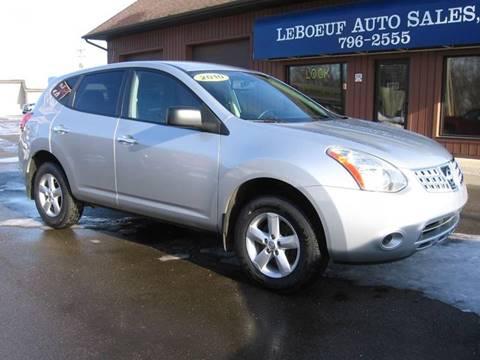 2010 Nissan Rogue For Sale >> Nissan Rogue For Sale In Waterford Pa Leboeuf Auto Sales