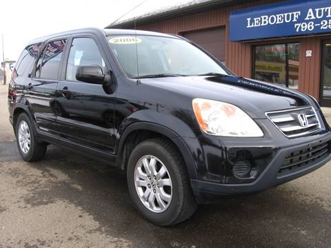 2006 Honda CR-V for sale in Waterford, PA