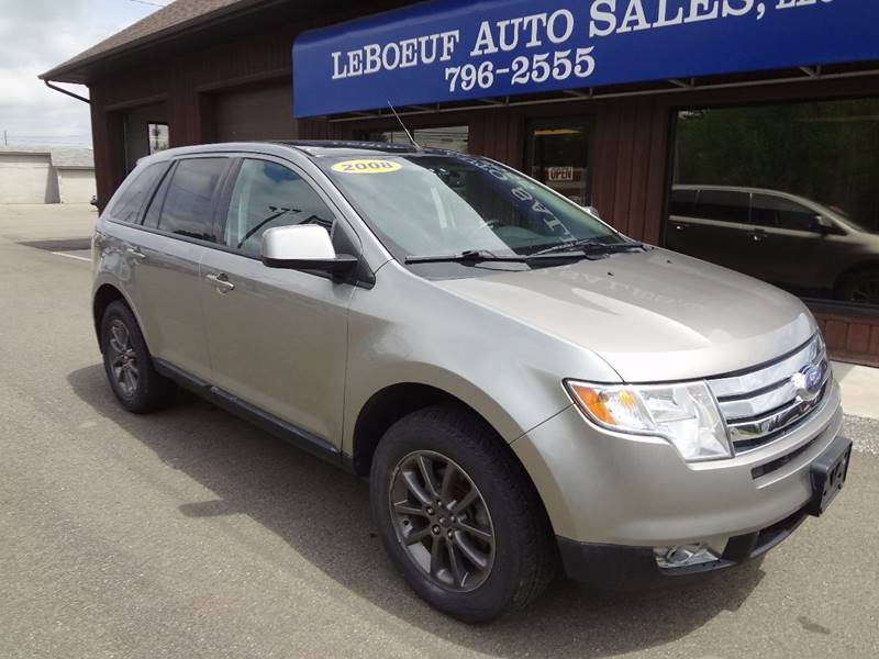 2008 Ford Edge SEL AWD 4dr Crossover - Waterford PA