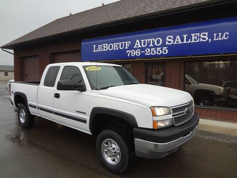 2005 Chevrolet Silverado 2500HD for sale in Waterford, PA