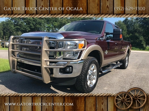 2011 Ford F-250 Super Duty Lariat for sale at Gator Truck Center of Ocala in Ocala FL