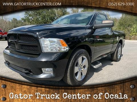 2012 RAM Ram Pickup 1500 Express for sale at Gator Truck Center of Ocala in Ocala FL
