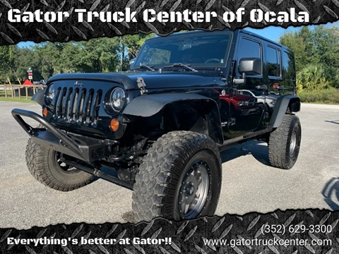 Gator Truck Center >> 2012 Jeep Wrangler Unlimited For Sale In Ocala Fl
