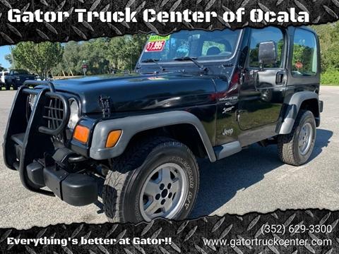 2000 Jeep Wrangler for sale in Ocala, FL