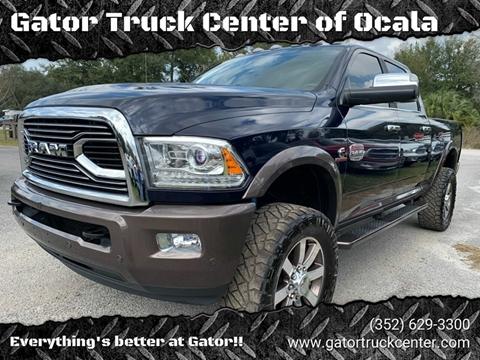 2018 RAM Ram Pickup 2500 Laramie Longhorn for sale at Gator Truck Center of Ocala in Ocala FL