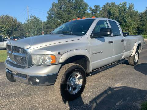 2004 Dodge Ram Pickup 2500 for sale at Gator Truck Center of Ocala in Ocala FL