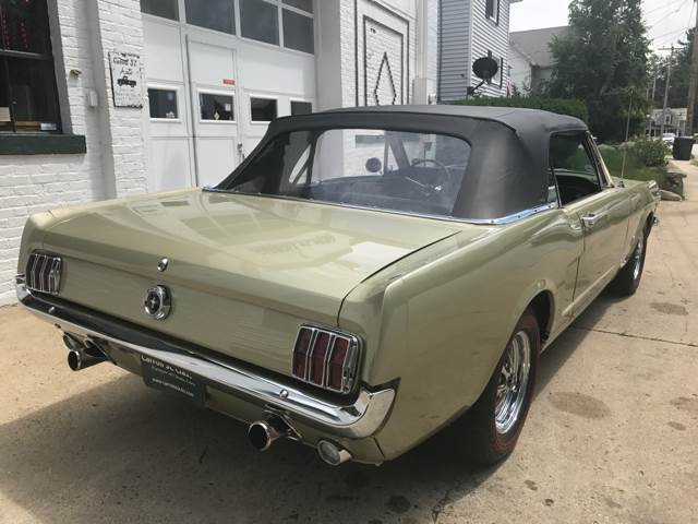 1965 Ford Mustang GT K-Code Convertible - Manchester NH