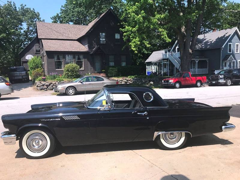 1957 Ford Thunderbird Frame Off Restoration , Two Tops - Manchester NH