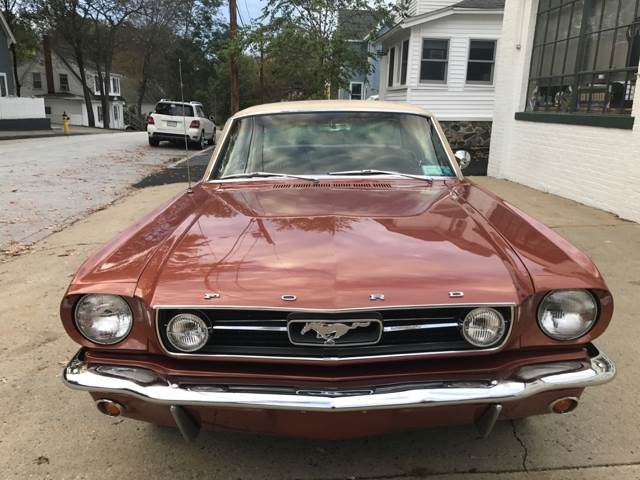 1966 Ford Mustang K-Code 289 4-Speed GT with Rally Pac and