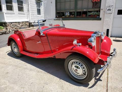 1951 MG TD for sale in Manchester, NH