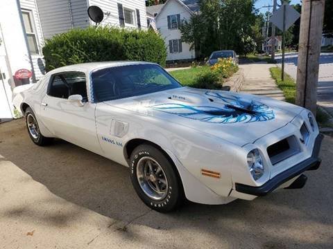 1974 Pontiac Trans Am for sale in Manchester, NH