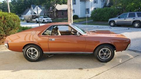 1969 AMC AMX for sale at Carroll Street Auto in Manchester NH