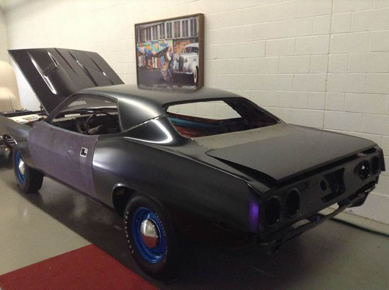 1972 Plymouth Barracuda 340 Cuda High Impact Petty Blue - Manchester NH