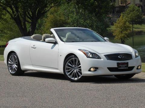 2014 Infiniti Q60 Convertible for sale in Farmers Branch, TX